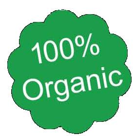 100% organbic
